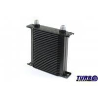 [Chłodnica Oleju TurboWorks Slim Line 25-rzędowa 140x195x50 AN8 black]