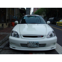 [Podnáraznik predný Honda Civic VI 2/3/4 D 99-00 Mugen]