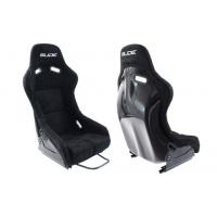[Športová sedačka SLIDE RS Semišové Black (škrupina) L]