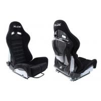 [Športová sedačka SLIDE X3 Semišové Black (polohovateľná) L]