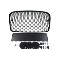 [GRILL AUDI A5 8T RS-STYLE BRIGHT BLACK (13-16) PDC]