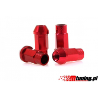 [Nakrętki JBR 50mm M12 x1.25 RED]