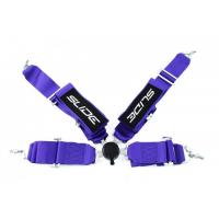 "[Pasy sportowe SLIDE Quick 4p 3"" Purple]"