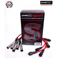 [Przewody zapłonowe PowerTEC AUDI 80 100 A6 A8 VW PASSAT 2.4 2.6 2.8L 90-00]