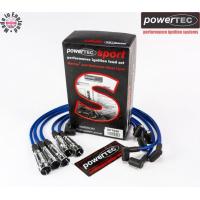 [Przewody zapłonowe PowerTEC AUDI 80 90 100 200 VW PASSAT 1.8-2.3L 73-91]