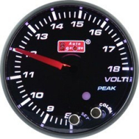 [ZEGAR AUTO GAUGE PK 60mm 10 COLOR - VOLT]