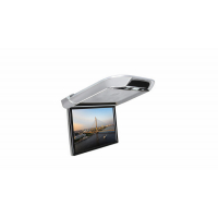 """[Stropný LCD monitor 13,3 """"šedý s OS. Android HDMI / USB, diaľkové ovládanie so snímačom pohybu]"""