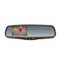 """[Monitor 4,3"""" integrovaný do spätného zrkadlaso stmievaním pre vozidláVW, Škoda, Audi, Peugeot, Citroen, Subaru]"""