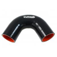 "[Silikónové koleno TurboWorks Pro Black 135° - 28mm (1,1"")]"