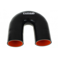 "[Silikónové koleno TurboWorks Pro Black 180° - 40mm (1,57"")]"