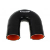 "[Silikónové koleno TurboWorks Pro Black 180° - 76mm (2,99"")]"