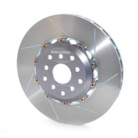 [Tarcza hamulcowa FERRARI 430 4.3 04-10 (Ceramiczna) nacinana lewy tył 350 mm]
