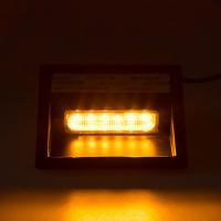 [PREDATOR LED vnútorné, 6x LED 5W, 12 / 24V, oranžový, ECE R10 / R65]