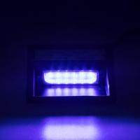 [PREDATOR LED vnútorné, 6x LED 5W, 12 / 24V, modrý, ECE R10 / R65]