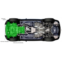 [Oceľový kryt motora, chladiča a prevodovky na LEXUS IS 250 (XE3) ]