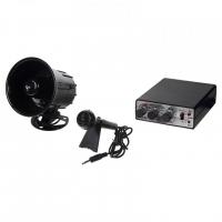 [Hobby zvukový systém 15W (35 variantov zvukov zvierat a sirén + mikrofón)]