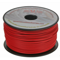 [Kábel 1 mm, červený, 100 m bal]