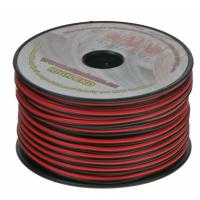 [Kábel 2x1 mm, čiernočervený, 50 m bal]