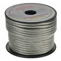 [Kábel 6 mm, strieborne transparentné, 25 m bal]