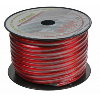 [Kábel 20 mm, červeno transparentné, 25 m bal]