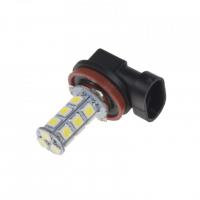 [LED H8 biela, 12V, 18LED / 3SMD]