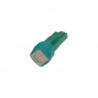 [LED T5 zelená, 12V, 1LED / 3SMD]