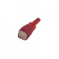 [LED T5 červená, 12V, 1LED / 3SMD]
