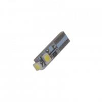 [LED T5 biela, 12V, 3LED / SMD]
