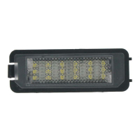 [LED osvetlenie ŠPZ do vozidla Seat, Škoda, VW Golf, Lupo, Passat]