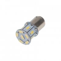 [LED BAZ15d (dvouvlákno) bílá, 12V, 13LED/3SMD]