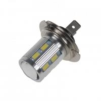 [LED H7 bílá 10-30V, 12SMD 5630 + 3W]