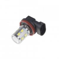 [LED H8 bílá, 10-30V, 12SMD 5630 + 3W]