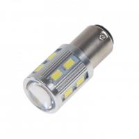 [LED BAY15D bílá, 12SMD 5630 + 3W Osram 10-30V]