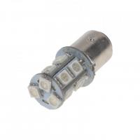 [LED BAZ15d (dvouvlákno) červená, 12V, 13LED/3SMD]