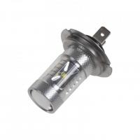 [CREE LED H7 bílá, 12-24V, 30W (6x5W)]
