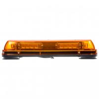 [LED rampa, oranžová, magnet, 24x LED 1W, ECE R10]