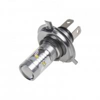 [CREE LED H4 bílá, 12-24V, 30W (6x5W)]