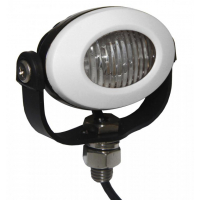 [PROFI LED výstražné světlo 12-24V 3x3W bílý ECE R10 92x65mm]