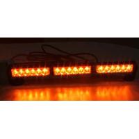 [LED světelná alej, 18x LED 1W, oranžová 500mm, ECE R10]