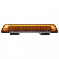[Rampa oranžová, 32LEDx1W, magnet, 12-24V, 440mm, ECE R10]