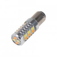[LED BAY15d (dvouvlákno)  dual color, 12-24V, 22LED/5630SMD]