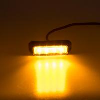 [PREDATOR 4x3W LED, 12-24V, oranžový, ECE R10 R65]