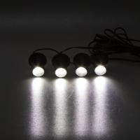 [LED stroboskop bílý 4ks 1W]