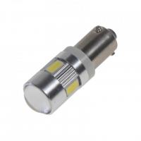 [LED BAX9s bíla, 12-24V, 6LED / 5730SMD]