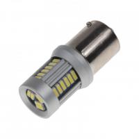 [LED BA15d (jednovlákno) biela, 12-24V, 30LED / 4014SMD]
