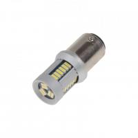 [LED BAZ15d (dvouvlákno) biela, 12-24V, 30LED / 4014SMD]