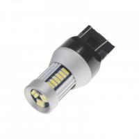 [LED T20 (7443) biela, 12-24V, 30LED / 4014SMD - dvouvlákno]