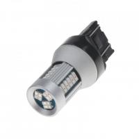 [LED T20 (7443) červená, 12-24V, 30LED / 4014SMD]