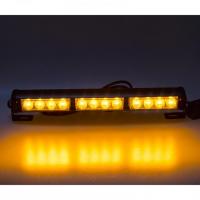 [LED svetelná alej, 12x LED 3W, oranžová 360mm, ECE R10 R65]
