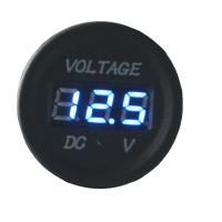 [Digitálny voltmeter 6-30V modrý]